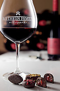 Wine and chocolates for Methven Family Vineyards in Oregon