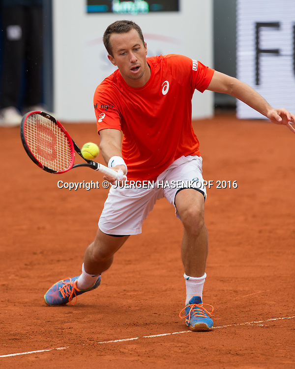 Philipp Kohlschreiber (GER), Endspiel, Final<br /> <br /> Tennis - BMW Open2016 -  ATP  -  MTTC Iphitos - Munich - Bavaria - Germany  - 1 May 2016.