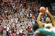 The student section was in full support of their Hoosiers in a lopsided win over the Delta Devils. Indiana hosted Mississippi Valley State at Assembly Hall on Friday, November 14, 2014.