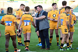 Wasps Director of Rugby Dai Young commiserates players after the Final - Mandatory byline: Patrick Khachfe/JMP - 07966 386802 - 14/09/2019 - RUGBY UNION - Franklin's Gardens - Northampton, England - Premiership Rugby 7s (Day 2)