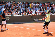 Roland Garros. Paris, France. May 27th 2012.Spanish player Rafael NADAL during training session...