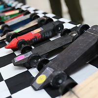 The district level Pinewood Derby was held Saturday at the Mall at Barnes Crossing food court.  Winners of today will advance to the Yocona Area Council Pinewood Derby at the Tupelo Auto Museum next month
