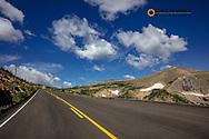 Trail Ridge Road in Rocky Mountain National Park, Colorado, USA