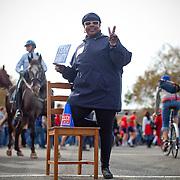 Washington, Oct. 30, 2010 - Rally to Restore Sanity and/or Fear - Marlene Smith, Buffalo, NY