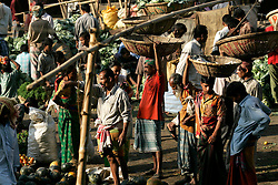 BANGLADESH DHAKA KAWRAN BAZAAR 27FEB05 - Market scenes at Kawran Bazaar vegetable market. The Bazaar has been in the Tejgaon area for at least 30 years and is one of the largest markets in Dhaka city.....jre/Photo by Jiri Rezac ....© Jiri Rezac 2005....Contact: +44 (0) 7050 110 417..Mobile:  +44 (0) 7801 337 683..Office:  +44 (0) 20 8968 9635....Email:   jiri@jirirezac.com..Web:    www.jirirezac.com....© All images Jiri Rezac 2005- All rights reserved.