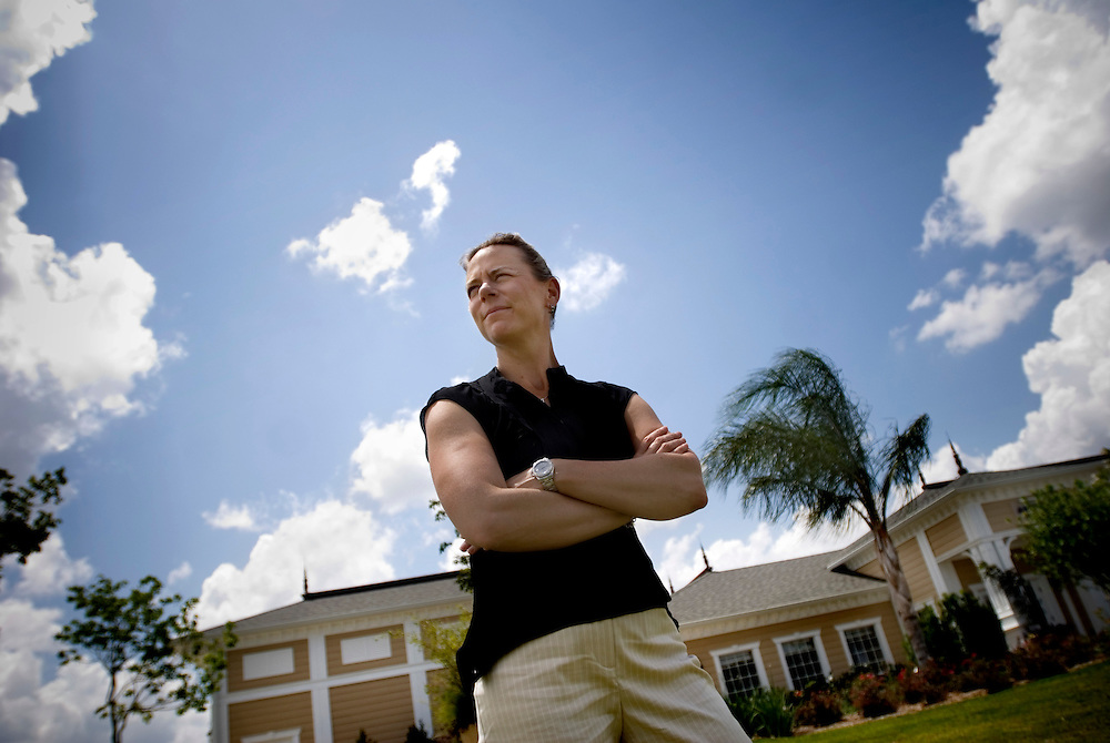 "Swedish golf pro Annika Sörenstam, at her ""Annika Academy"" in Orlando, Florida.Photographer: Chris Maluszynski /MOMENT"