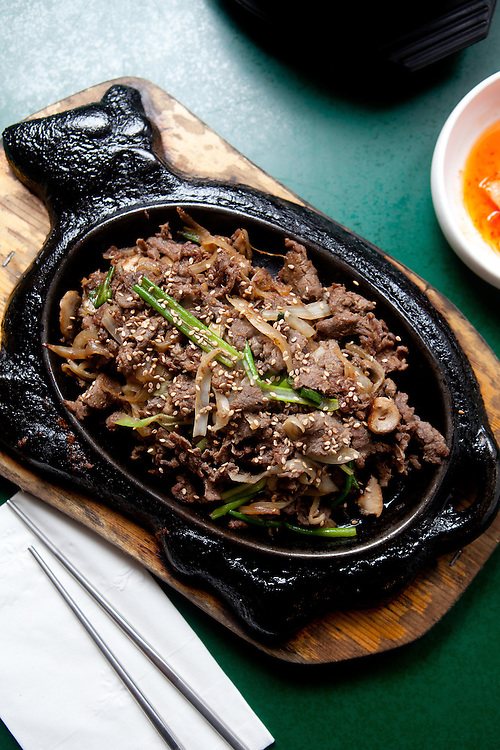Korean Beef Bulgogi at Korea House in Creve Coeur, MO