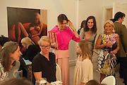 VALERIA NAPOLEONE; LETIZIA , Valeria Napoleone hosts a dinner at her apartment e to celebrate the publication of her book  Valeria Napoleone's Catalogue of Exquisite Recipes. Palace Green. Kensington. London. 28 September 2012.