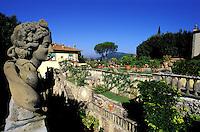 Italie-Toscane - Province de Florence - Villa Gamberaia - Jardin