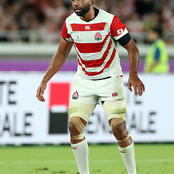 Michael Leitch (capt) of Japan during the Rugby World Cup Pool A  match between Japan and Scotland, Pool A at the International Stadium Yokohama,Yokohama City Saturday 13th October  2019 (Mandatory Byline Steve Haag Sports Hollywoodbets)