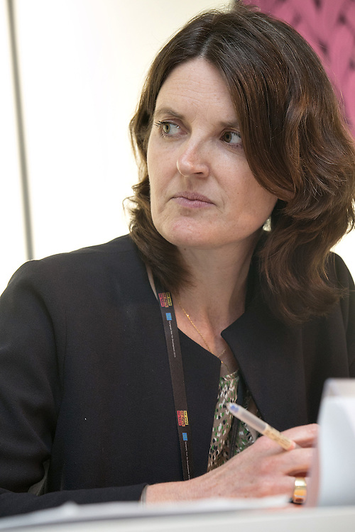 03 June 2015 - Belgium - Brussels - European Development Days - EDD - Migration - Shifting wealth , shifting migration flows - Sandrine Mesple-Somps , Research Officer © European Union