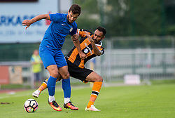 03.08.2016, Kufsteinarena, Kufstein, AUT, Testspiel Hull City vs Caykur Rizespor, im Bild v.l.n.r.: Adame Diomande (Hull City FC) und Gökhan Akkan (Caykur Rizespor) // during the friendly match between Hull City and the Caykur Rizespor at the Kufsteinarena in Kufstein, Austria on 2016/08/03. EXPA Pictures © 2016, PhotoCredit: EXPA/ Jakob Gruber// during the friendly match between Hull City and the Caykur Rizespor at the Kufsteinarena in Kufstein, Austria on 2016/08/03. EXPA Pictures © 2016, PhotoCredit: EXPA/ Jakob Gruber