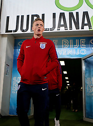 Jordan Pickford of of England arrives at The SRC Stozice Stadium ahead of the World Cup Qualifier against Slovenia - Mandatory by-line: Robbie Stephenson/JMP - 10/10/2016 - FOOTBALL - SRC Stozice - Ljubljana, England - England Press Conference