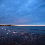 Today's Fall Sunrise  at Narragansett Town Beach, Narragansett, RI,  October  29, 2013.