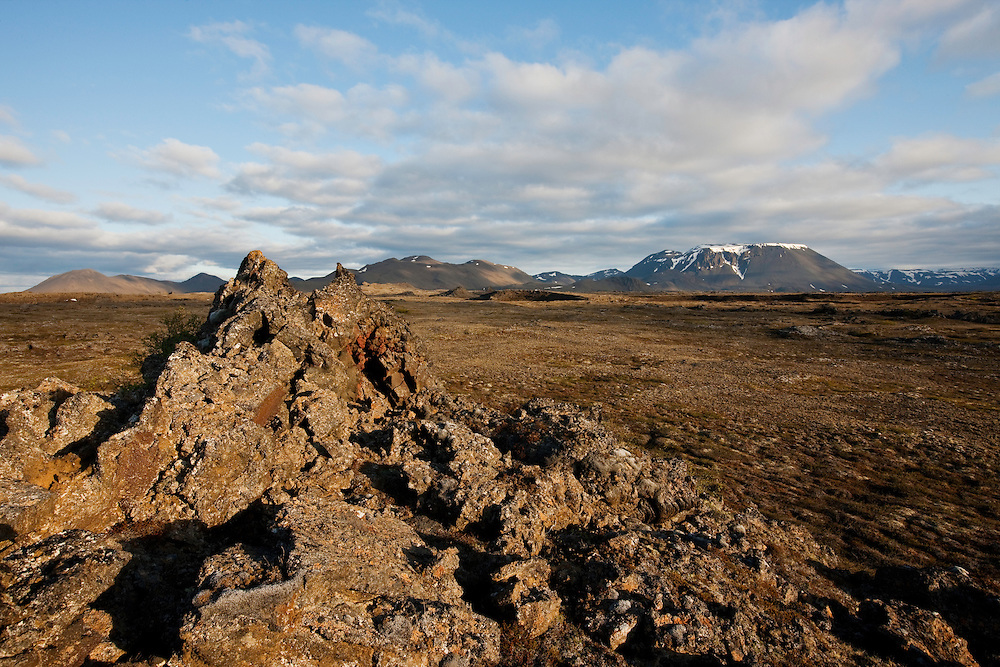 Burfell; Burfellshraun; Iceland; Skogmannafjoll; Thingeyjarsyslur