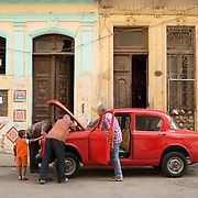 Havana, Cuba classic car.<br />
