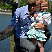 GEORGETOWN, Maine -- 6/30/14 -- Zike Family  portrait. DSC_2322<br /> Photo  ©2014 by Roger S. Duncan <br /> Released for all purposes to Zike Family