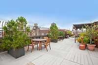 Roof Deck at 235 West 102nd Street