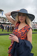 NOELLE RENO, Ladies Day, Glorious Goodwood. Goodwood. August 2, 2012