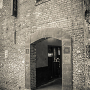 Entrance to a bar in Post Alley - Seattle, WA