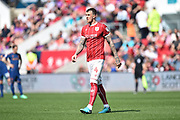 Aden Flint (4) of Bristol City during the EFL Sky Bet Championship match between Bristol City and Hull City at Ashton Gate, Bristol, England on 21 April 2018. Picture by Graham Hunt.