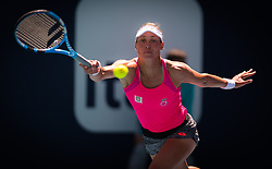 March 22, 2019 - Miami, FLORIDA, USA - Yanina Wickmayer of Belgium in action during the second-round at the 2019 Miami Open WTA Premier Mandatory tennis tournament (Credit Image: © AFP7 via ZUMA Wire)