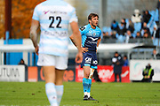 Benoit Paillaugue (Montpellier Herault Rugby), Juan Jose Imhoff (Racing Metro 92) during the French Championship Top 14 Rugby Union match between Racing Metro 92 and Montpellier Herault Rugby, on November 26, 2017, at Yves du Manoir stadium in Colombes, France, Photo Stephane Allaman / ProSportsImages / DPPI