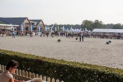 Overview<br /> Vrijspringen Nationale Merriekeuring, 3 jarige springmerries <br /> KWPN Paardendagen Ermelo 2015<br /> © Hippo Foto - Dirk Caremans