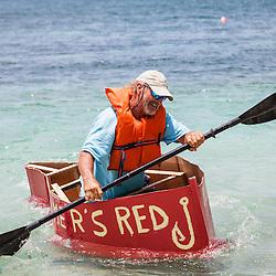 Happy Island Cardboard Boat Races