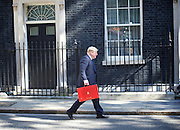 Cabinet meeting arrivals <br /> Downing Street, London, Great Britain <br /> 19th July 2016 <br /> <br /> New members of the Cabinet <br /> arriving ahead of the first cabinet meeting chaired by Theresa May <br /> <br /> <br /> Boris Johnson<br /> Foreign<br /> <br /> Photograph by Elliott Franks <br /> Image licensed to Elliott Franks Photography Services