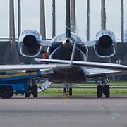 NLD/Amsterdam/20120917- Lady gaga arriveert op Schiphol voor haar concerten in Nederland,