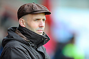 Exeter City manager Paul Tisdale before the Sky Bet League 2 match between Exeter City and Accrington Stanley at St James' Park, Exeter, England on 23 January 2016. Photo by Graham Hunt.