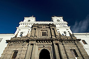 San Francisco Church facade (1536), Old quarter / Quito,Ecuador,South America