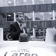 NLD/Bussum/19881110 - Landelijke Politie actie dag, staking en demonstratie op de fiets politie Gooi & Vechtstreek, toepsraak
