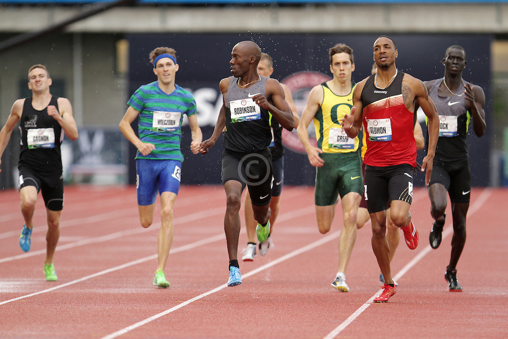 Olympic Trials Eugene 2012: men's 800 meters semifinal, Khadevis Robinson