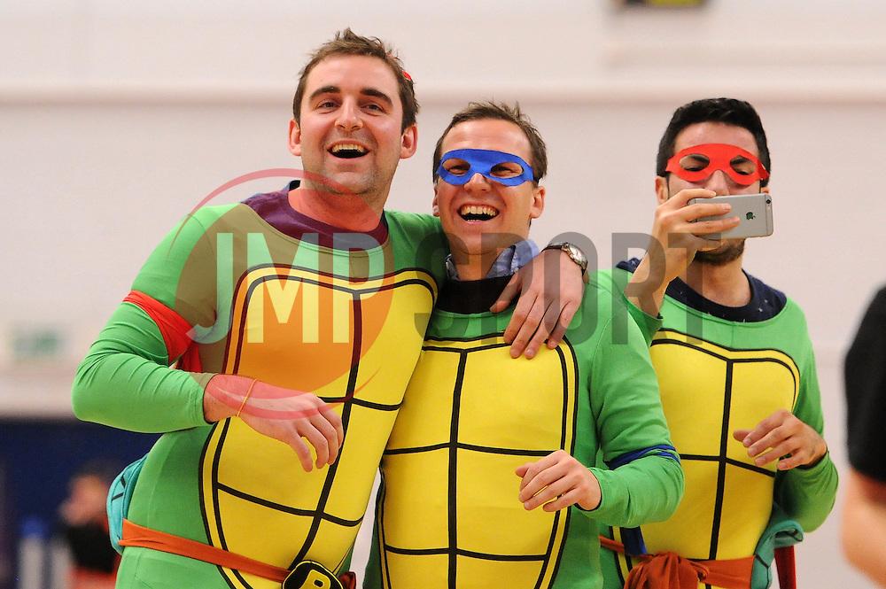 Bristol Flyers hen party  - Mandatory byline: Dougie Allward/JMP - 06/02/2016 - FOOTBALL - SGS Wise Campus - Bristol, England - Bristol Flyers v Newcastle Eagles - British Basketball League