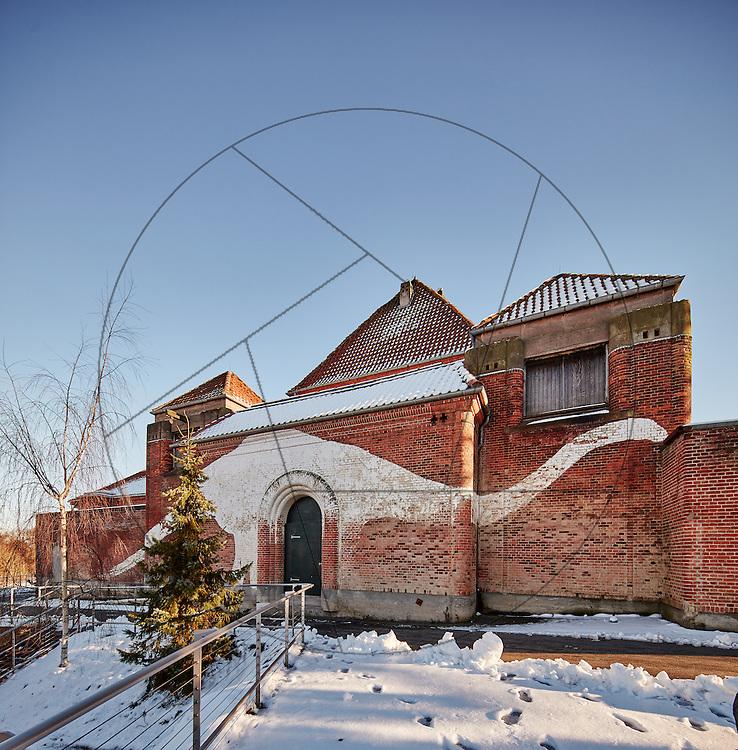 Det gamle Elefanthus, før renovering, før miljøsanering, Københavns Zoo, Københavns Zoologiske have,