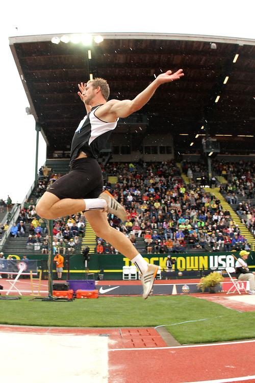 Olympic Trials Eugene 2012: decathlon long jump, Helwick