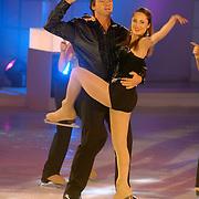 NLD/Hilversum/20060818 - Opname RTL Sterren Dansen op het IJs, Hein Vergeer met schaatspartner Florentine Houdiniere