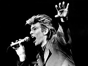 DAVID BOWIE <br /> JULY 1987 @ Maine Road, Manchester City Football Club