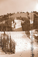 winter scenic of Deer Valley Resort