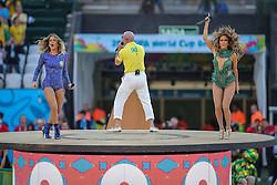 Show de Claudia Leite, Pit Bull e Jenifer Lopes na abertura da Copa do Mundo 2014, no Estádio Arena Corinthians, em São Paulo. FOTO: Jefferson Bernardes/ Agência Preview