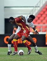 FOOTBALL - AFRICAN NATIONS CUP 2010 - GROUP B - BURKINA FASO v GHANA - 19/01/2010 - PHOTO MOHAMED KADRI / DPPI - KWADWO ASAMOAH (GHA)