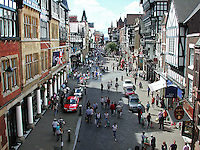 Town centre, Chester, England, UK, 200108173001.<br />