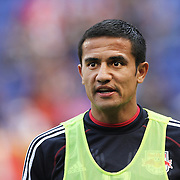 Tim Cahill, New York Red Bulls, during the New York Red Bulls V Philadelphia Union, Major League Soccer regular season match at Red Bull Arena, Harrison, New Jersey. USA. 30th March 2013. Photo Tim Clayton