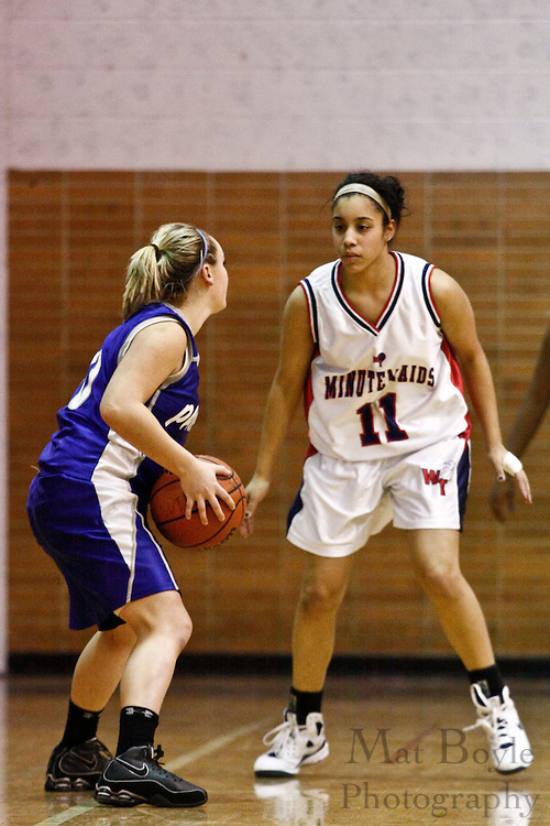 2009 Jan 20: Washington Township Girl's Basketball hosts Williamstown High School.