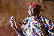 Kibet Serems' grandmother who lives near their farm by herself in a small house.  (Kibet Serem is featured in the book What I Eat: Around the World in 80 Diets.)  Kibet, who is 25 years old, cares for a small tea plantation that his father planted on their property near Kericho, Kenya when Kibet was a young boy and he is responsible for milking the cows that his family owns. He sells extra milk to a nearby school for a government feeding program and gives some to his mother who makes yogurt and sells it. His staple food is ugali, a maize meal porridge. He milks, feeds, waters and cares for the cows twice a day with the help of the wives of his brothers who also live on the property in their own houses.