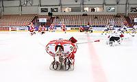 2020-03-06   Ljungby, Sverige: Troja-Ljungby (36) Wictor Ragnewall under uppvärmningen inför matchen i Hockeyettan mellan IF Troja/Ljungby och Bodens HF i Ljungby Arena ( Foto av: Fredrik Sten   Swe Press Photo )<br /> <br /> Nyckelord: Ljungby, Ishockey, Hockeyettan, Ljungby Arena, IF Troja/Ljungby, Bodens HF, fstb200306, playoff, kval