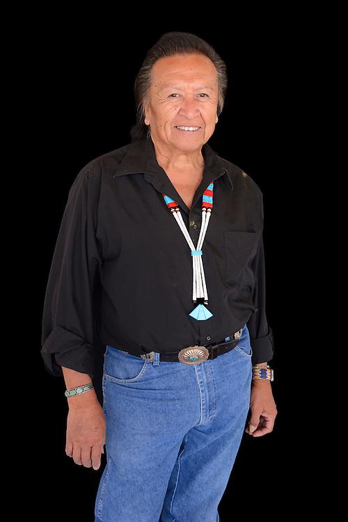 Curator Herb Stevens,San Carlos Apache Reservation,Arizona, USA