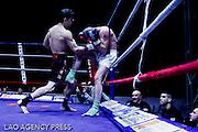 categorie 63,5 KG homme.THOMAS ADAMANDOPOULOS vainqueur par arret de l arbitre contre JONATHAN INIACIO